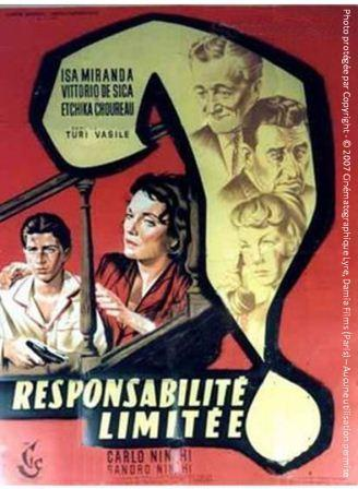 Responsabilité limitée