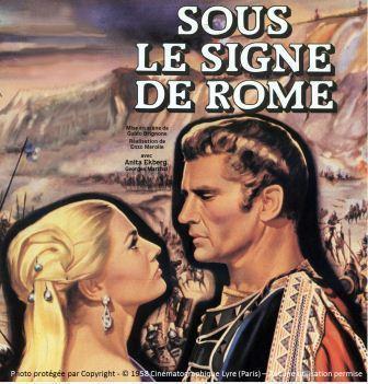 Sous le signe de Rome